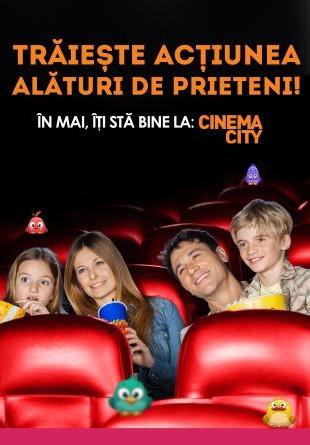 Sărbătorește cu noi luna filmelor la Cinema City