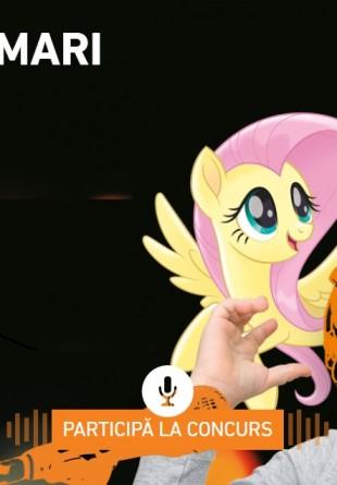 Câștigă un rol de dublaj pentru copilul tău în super producția My Little Pony: Filmul!