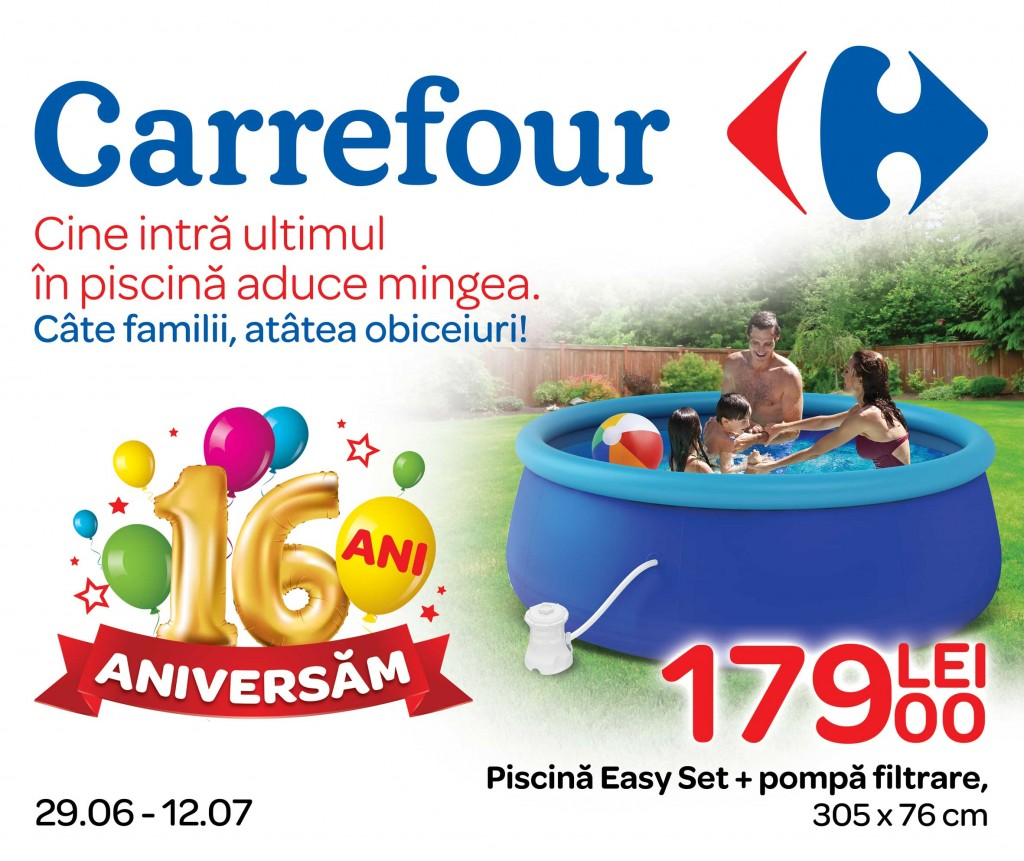 Carrefour promo ii speciale shopping city targu jiu - Piscinas carrefour 2017 ...