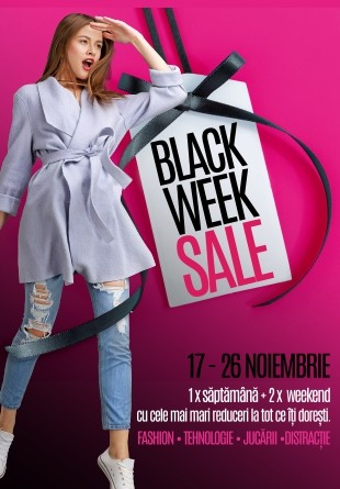 O săptămână de reduceri Black Friday