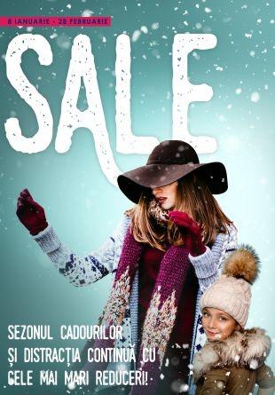 Prinde toate reducerile de iarnă la Shopping City Târgu Jiu